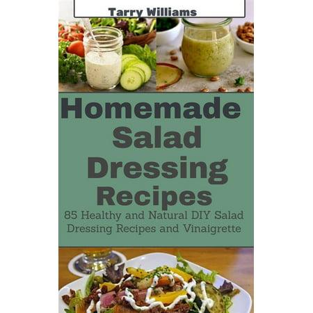 Homemade Salad Dressing Recipe - eBook