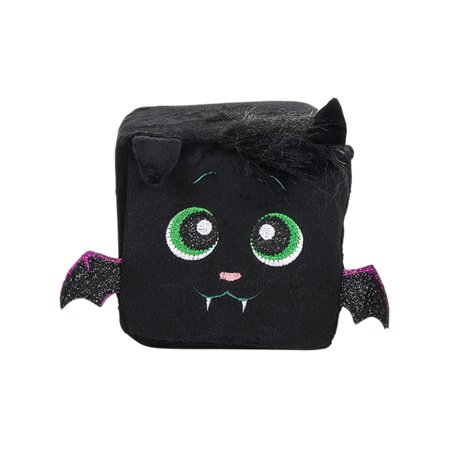 Halloween Black Bat Character Plush Cute Qubz Decoration](Cute Easy Halloween Decoration Ideas)