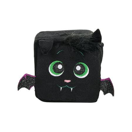 Halloween Black Bat Character Plush Cute Qubz Decoration