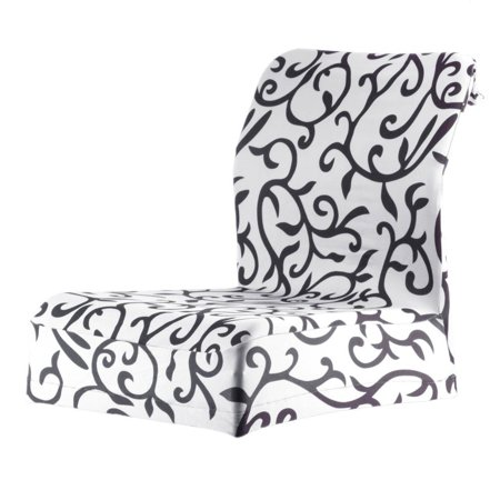 Jacquard Printed Thickening Stretch Brief Chair Cover Half Chair Covers - image 8 of 9