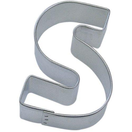 "Letter S Tin Cookie Cutter 3"" Als"