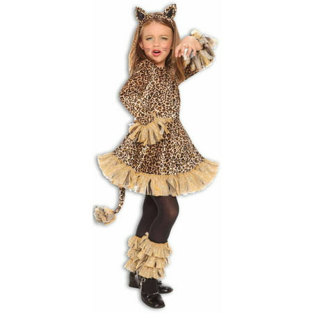 Leopard Girls' Child Halloween Costume - Halloween Costumes Kid Girl