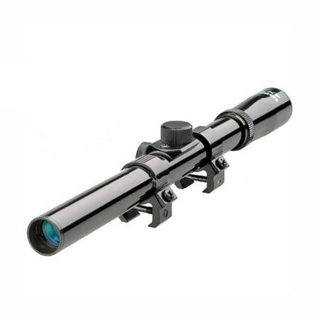 Tasco Tasco Rimfire Scope 4x15mm, Gloss Black, Crosshair (Best Scope For Ar 15 Under $100)