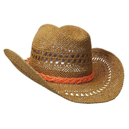 Roxy Juniors Rake Cowboy Hat-Lark - Walmart.com 8bd582606e4a