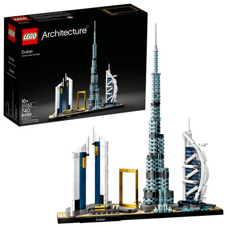LEGO Architecture Skylines: Dubai Collectible Architecture Building Set 21052