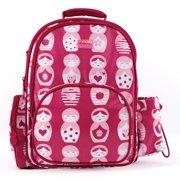 Backpacks For Women, Medium Pink Russian Doll Hiking Travel Backpack For Women