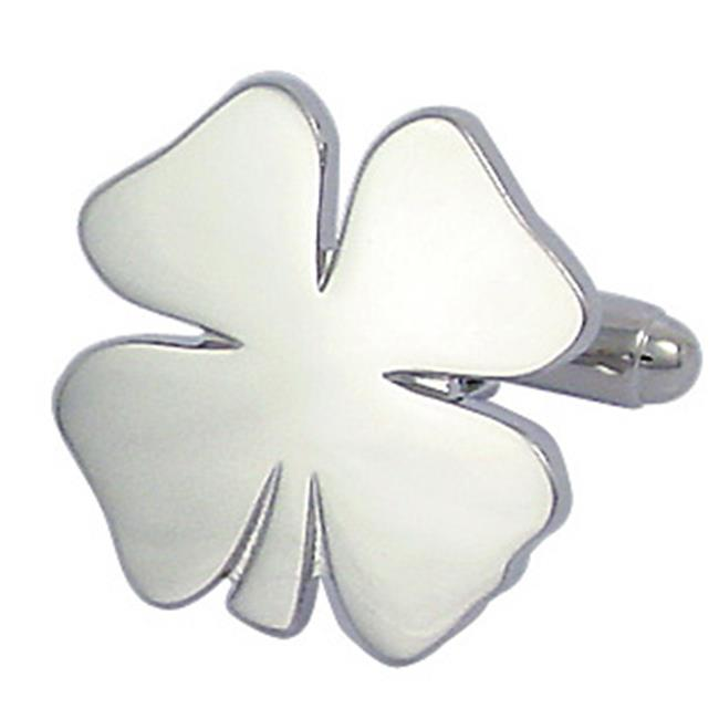 Cufflinks PD-CLV-SL Four Leaf Clover Cufflinks