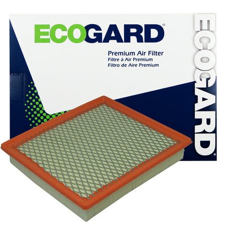 ECOGARD XA5672 Premium Engine Air Filter Fits Dodge Avenger, Grand Caravan, Chrysler Town & Country, Sebring, 200, Volkswagen