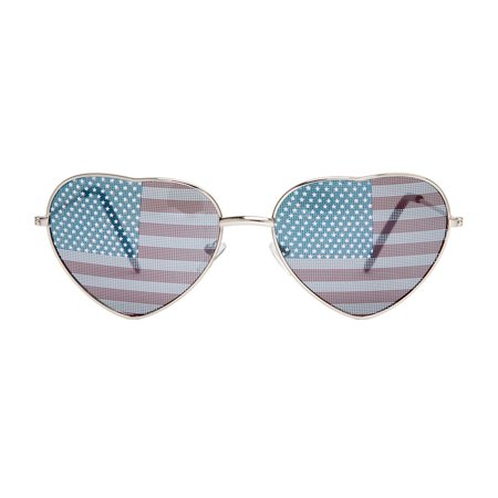 Gravity Shades USA Heart Shaped Aviator Sunglasses](Star Shaped Sunglasses)