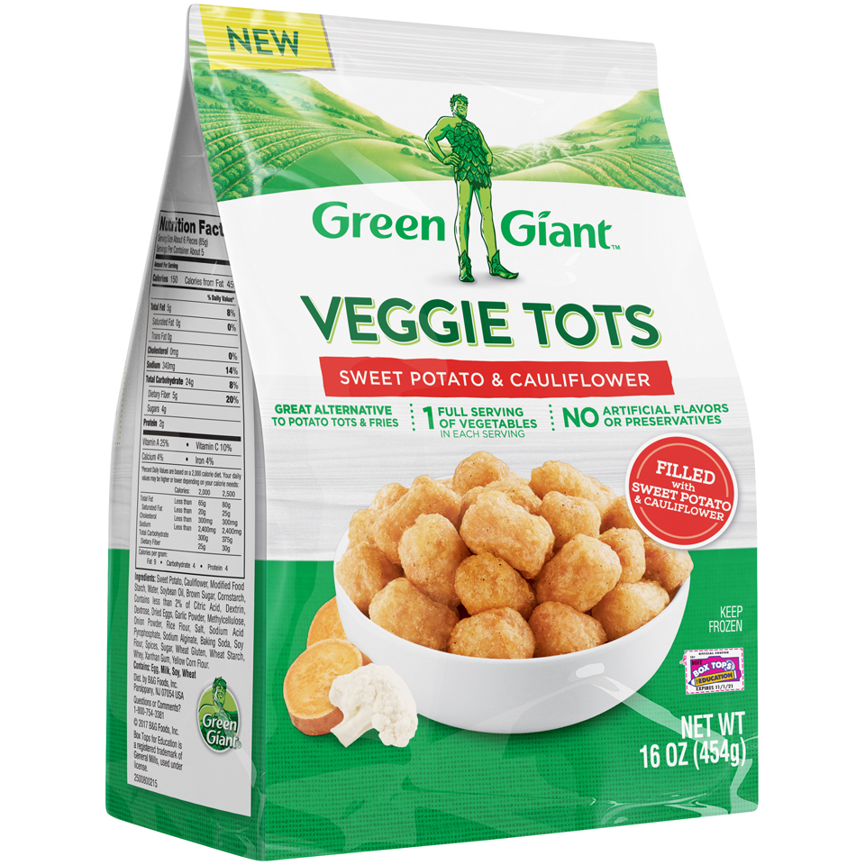 Green Giant Veggie Tots Sweet Potato & Cauliflower, 16 oz