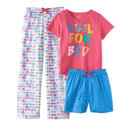 Two Cool for Bed Three Piece Pajama Set