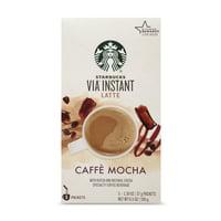 Starbucks VIA Instant Caffe Mocha Latte (1 box of 5 packets)