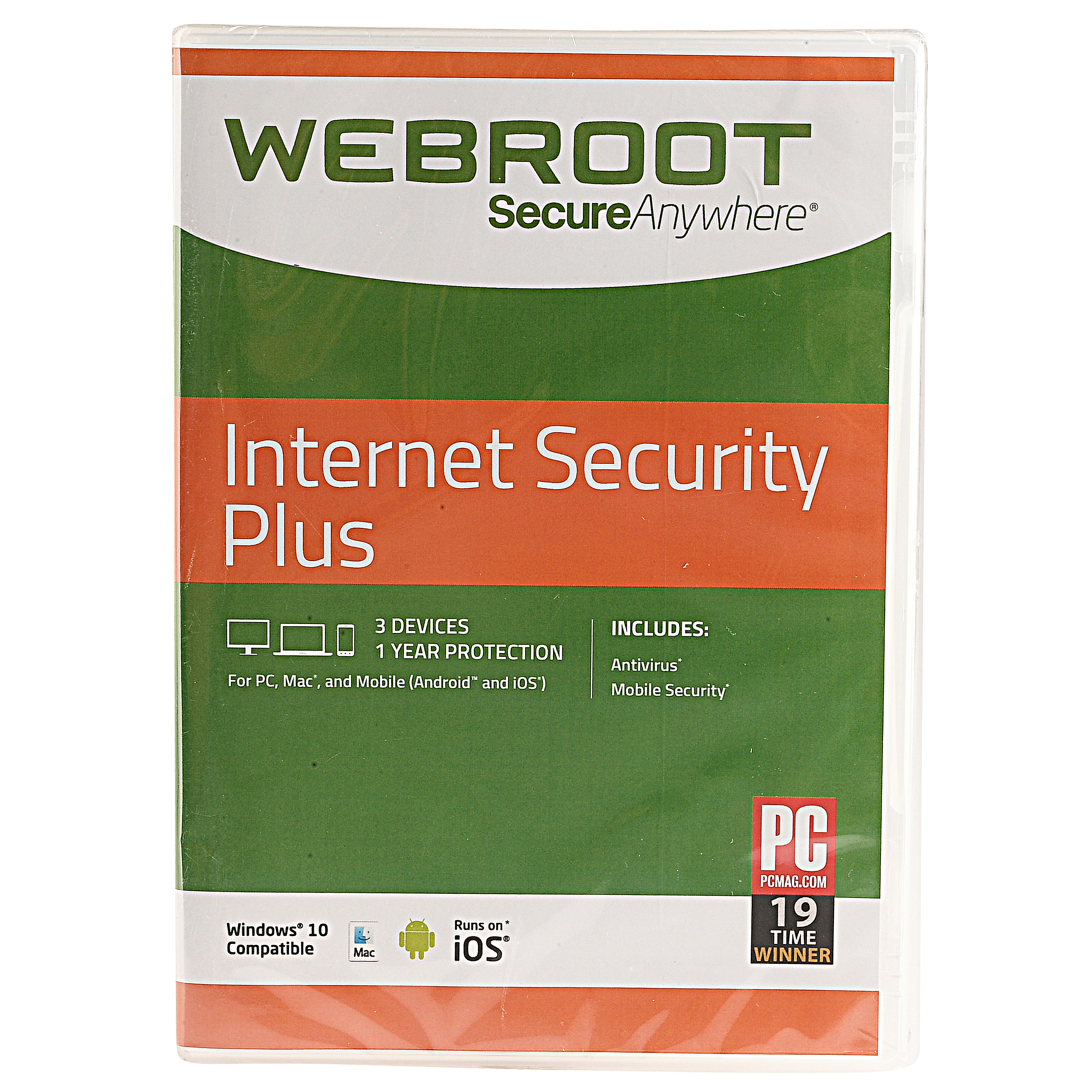 WebRoot Secure Anywhere Internet Security Plus Software