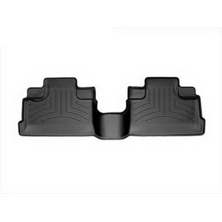 WeatherTech 07+ Jeep Wrangler Unlimited Rear FloorLiner - Black