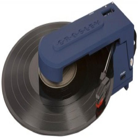 Crosley CR6020A-BL Revolution Portable USB Turntable with Software for Ripping & Editing Audio (Blue)