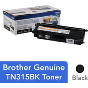 Brother Genuine High Yield Yellow Toner Cartridge, TN315Y, Page Yield Up To 6,500 Pages