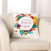 Checkerboard, Ltd Dreams Throw Pillow