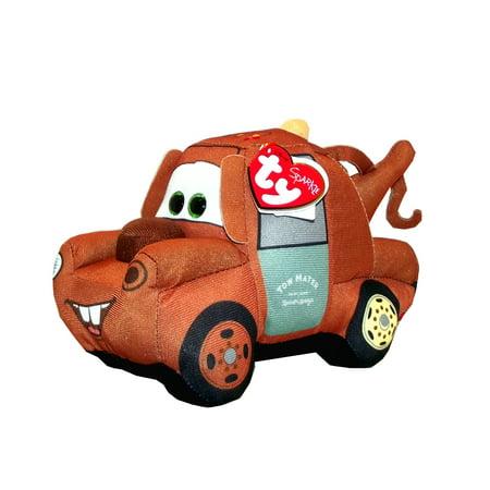 7.5 Inch Plush - Cars 3 Mater Ty Plush, 5 X 4 X 7.5 inches