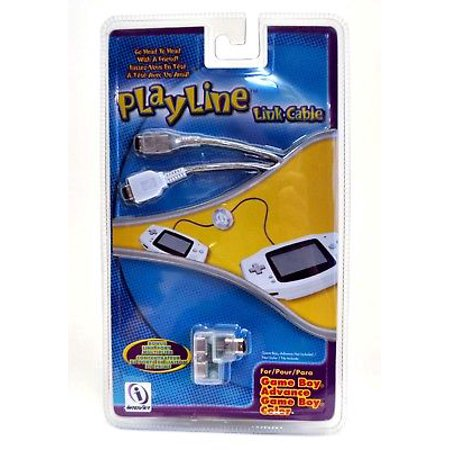 InterAct PlayLine Link Cable GBA Game Boy Color/Advance SP WHITE