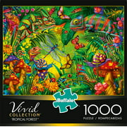Buffalo Games Vivid Collection Item 12207 - Tropical Forrest - 1000 Piece Jigsaw Puzzle