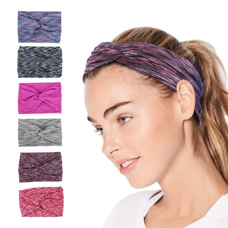 Cross Headband - Vbiger Women Headbands Moisture-wicking Yoga Head Wraps  Stretchy Workout Head Bands Fashionable Cross Headband d028e48c25a