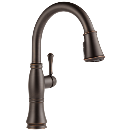 Cassidy Single Handle Pull-Down Kitchen Faucet with ShieldSpray® Technology in Venetian Bronze 9197-RB-DST