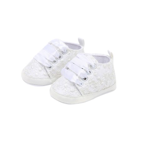 Embroidered Wedding Shoes (Babula Baby Girls Spring Autumn Embroidered Soft Sole Casual Walking)