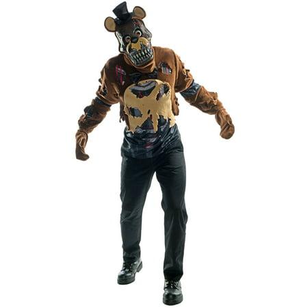 Five Nights at Freddy's - Nightmare Freddy Adult Costume - Halloween Costumes Freddy Krueger