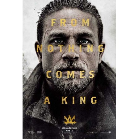 King Arthur Legend Of The Sword Movie Poster  11 X 17