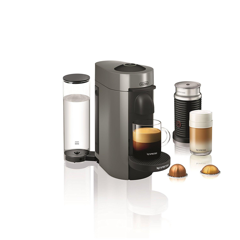Delonghi Nespresso VertuoPlus Coffee and Espresso Maker b...