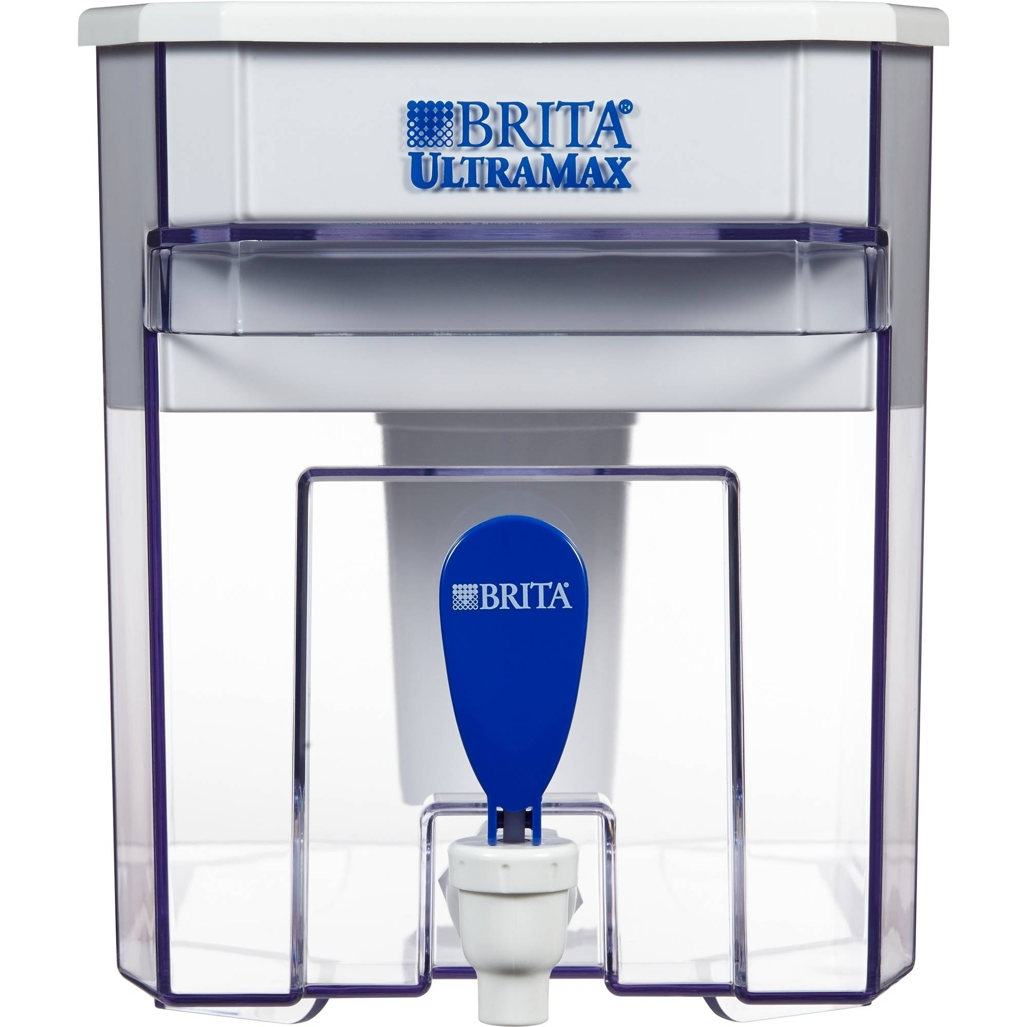 Brita UltraMax Water Filter Dispenser, White, 18 Cup, BPA Free