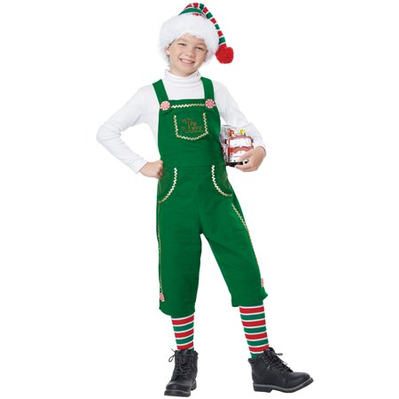 Toymaker Elf Boy Child Costume](Boys Elf Costume)