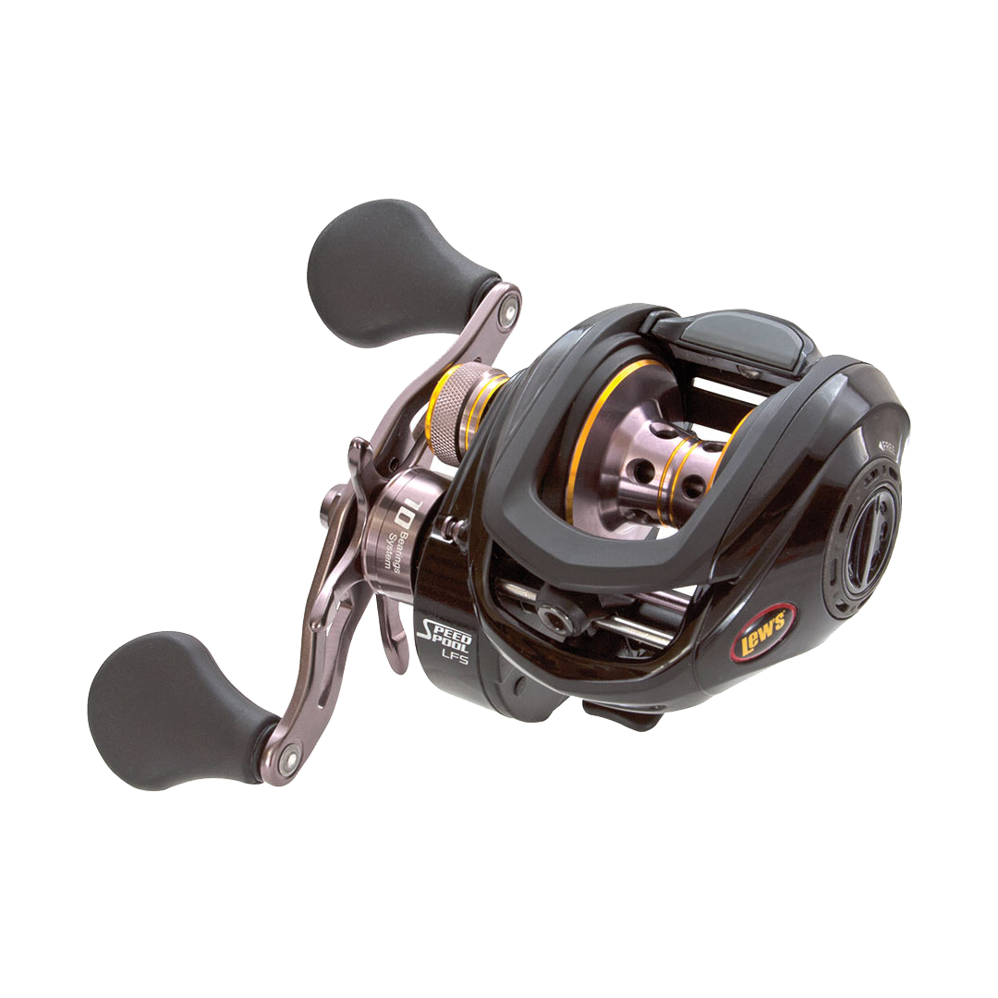 Lews Fishing Tournament MB Baitcast Reel TS1SHMB by Lews Fishing