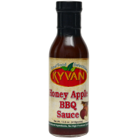 Kyvan Honey Apple BBQ Sauce, 15 Fl Oz