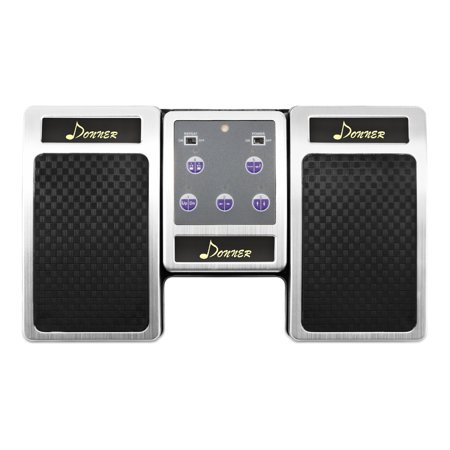 Donner Bluetooth Page Turner Pedal for Tablets Ipad (Pageflip Cicada Bluetooth Pedal Automatic Page Turner)