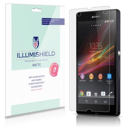 iLLumiShield Matte Screen Protector 3x for Sony Xperia Z C6602 / C6603 / (Sony Xperia Z Vs Sony Xperia Z Ultra)