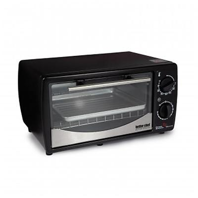 Better Chef Toaster Oven Broiler with Stainless Steel Front, 9 Ltr, Black Brand New Kitchen Product by