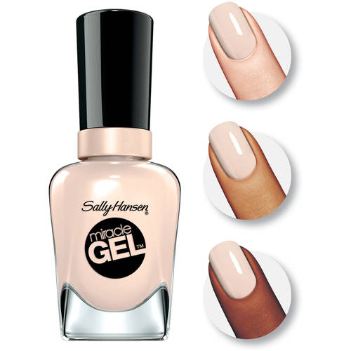 Sally Hansen Miracle Gel Nail Color, Birthday Suit 0.5 fl oz