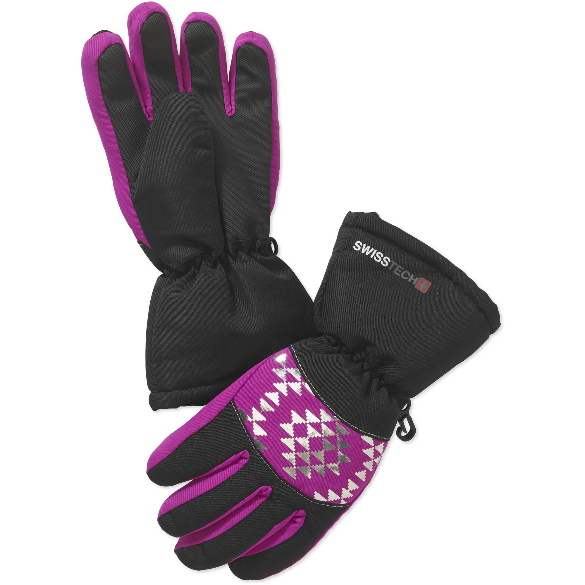 Swiss Tech Girls' Geo Ski Glove