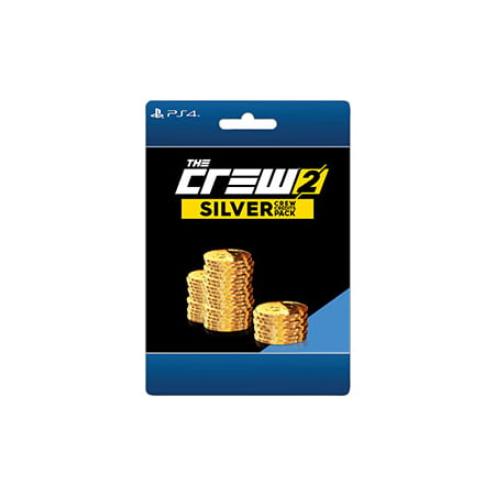 The Crew 2 Silver Credit Pack, Ubisoft, PlayStation, [Digital