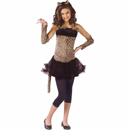 Wild Cat Child Halloween Costume](Cat Unitard Costume)