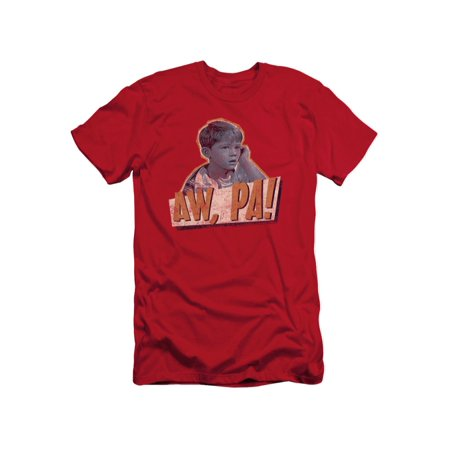 Andy Griffith Icon Aw Pa Adult Slim T-Shirt Tee - Aw Adult