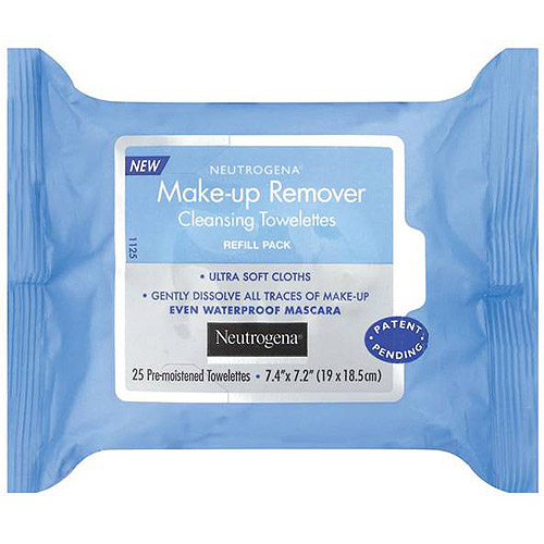 Neutrogena Makeup Removing Cleansing Towelettes, 25 Count