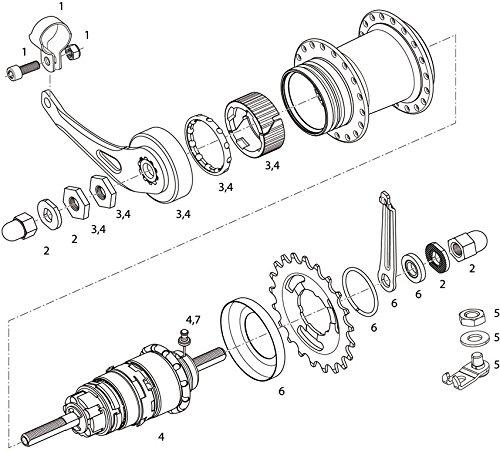Sram Spare Parts Kit I3 Freewheelcoaster Brakeroller Brake Hubs