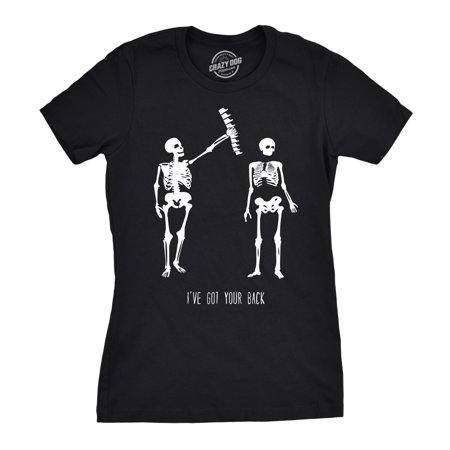 Womens Got Your Back Funny Skeleton Best Friend Halloween T (Famous Female Best Friends)
