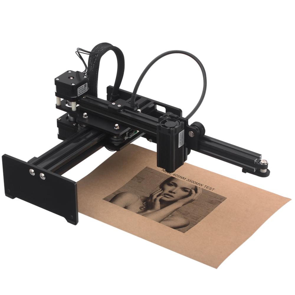 500mW Desktop Laser Engraving Machine Logo Marking Engraver Printer Cutter Mini