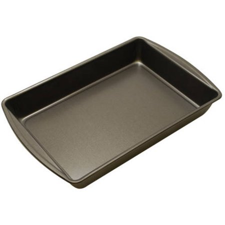 Mainstays Non-Stick Oblong Cake Pan ()