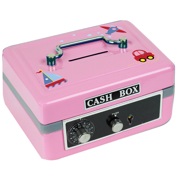 Personalized Cash Box