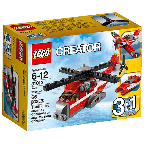 LEGO Creator Red Thunder Building Set