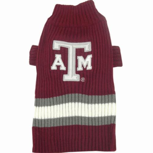 Texas A&M Dog Sweater - X-Small